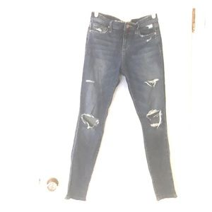 Joes jeans skinny ankle distressed SZ 27